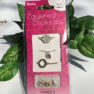 💎 3/$10 💎DIY rose necklace kit (makes 3)